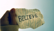 BELIEVE IN GOD BELIEVE IN YOU….