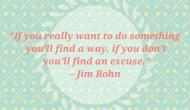 A friendly reminder from JimRohn