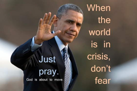 world crisis   pray