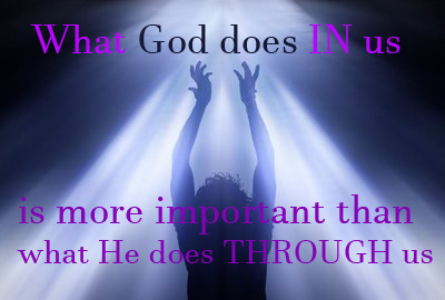 God's work in us