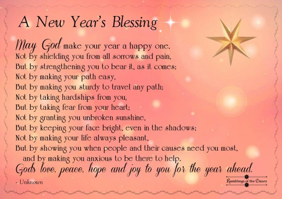 New Year Blessing