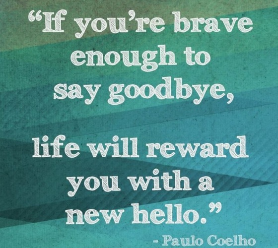 paulo coelho, s.c. rhyne, moving on, starting over, fresh start, blogger, saying goodbye