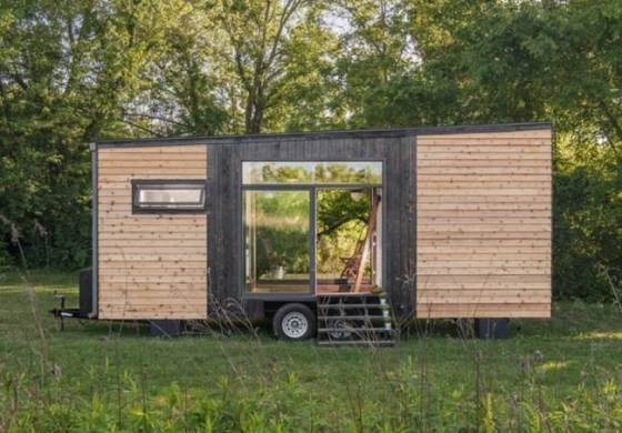 Tiny House Of 22 Square Meters That You Can Take Anywhere With Yourself